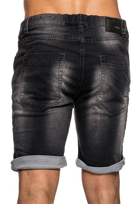 sublevel herren sweat jogg short jeans optik bermuda shorts kurze hose. Black Bedroom Furniture Sets. Home Design Ideas