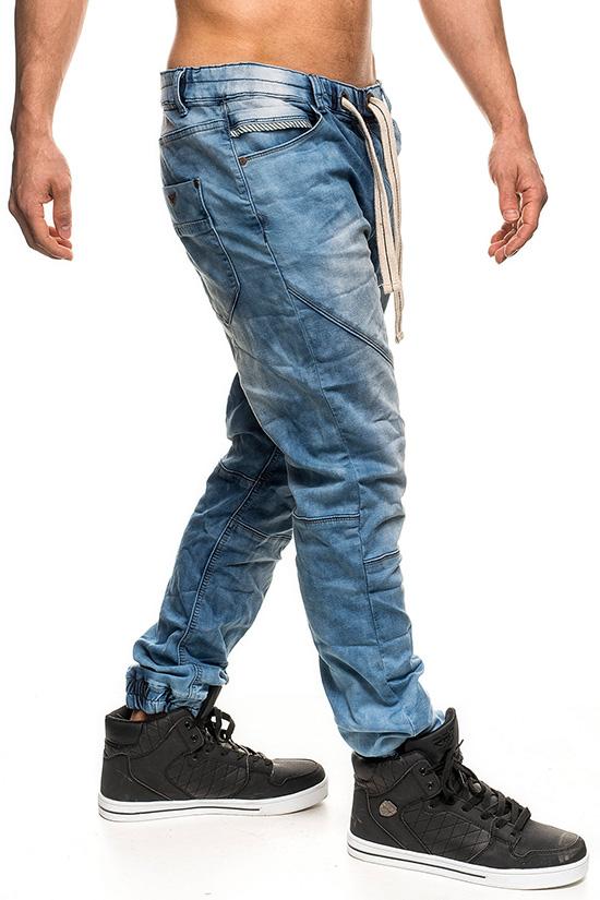 sublevel bequeme herren jogg jeans hose jogginghose. Black Bedroom Furniture Sets. Home Design Ideas