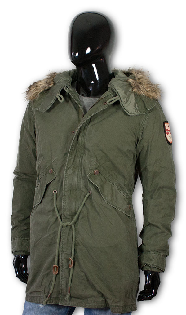 herren winter mantel jet lag rs9 winter parka jacke winterjacke wintermantel ebay. Black Bedroom Furniture Sets. Home Design Ideas