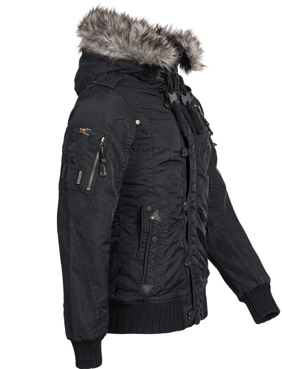khujo gregor herren winterjacke wintermantel winter parka. Black Bedroom Furniture Sets. Home Design Ideas