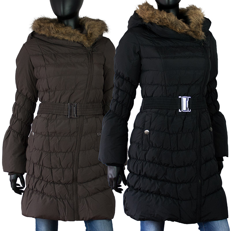 sublevel echter daunen wintermantel winterjacke winter stepp mantel jacke parka ebay. Black Bedroom Furniture Sets. Home Design Ideas