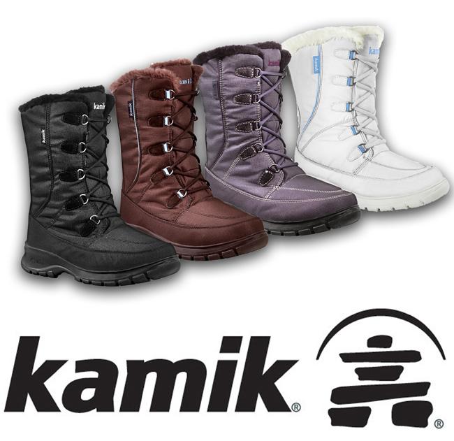 kamik damen winterstiefel boots wasserdicht brooklyn gr. Black Bedroom Furniture Sets. Home Design Ideas