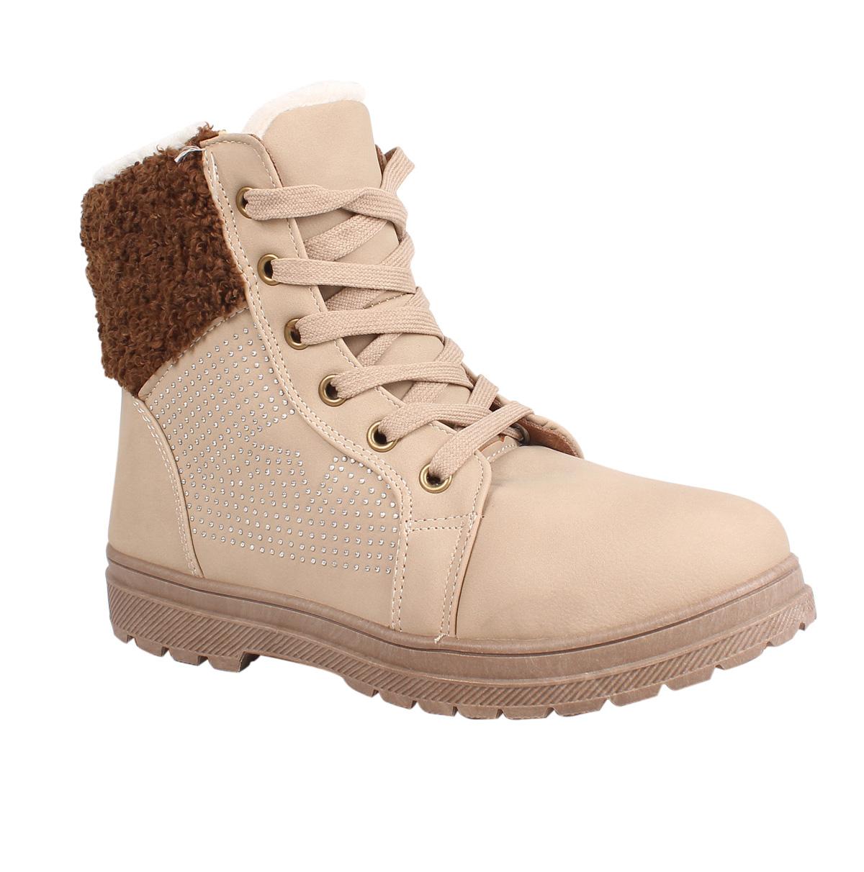 damen winter schuhe stiefel winterstiefel boots. Black Bedroom Furniture Sets. Home Design Ideas