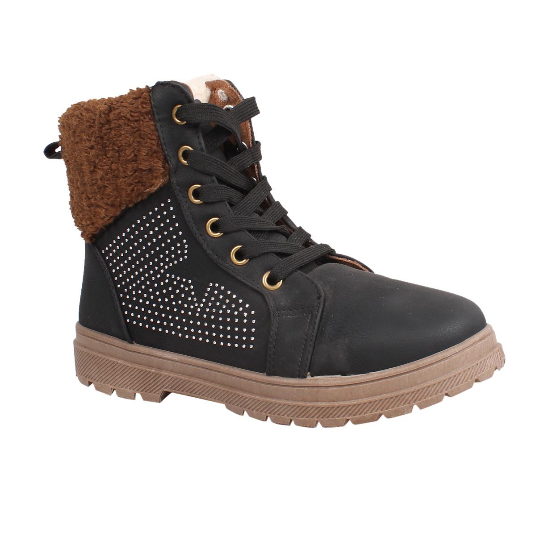 damen winter schuhe stiefel winterstiefel boots stiefeletten gef ttert schn rer ebay. Black Bedroom Furniture Sets. Home Design Ideas