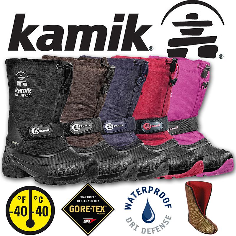 Kamik-Waterbug-5G-Kinder-GORE-TEX-Winterstiefel-Schneestiefel ...
