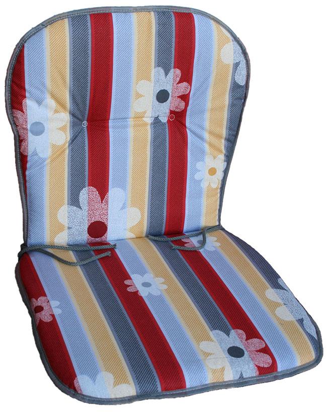 polster auflagen monoblock 5cm dick f r garten stuhl plastik kunststoff sessel ebay. Black Bedroom Furniture Sets. Home Design Ideas